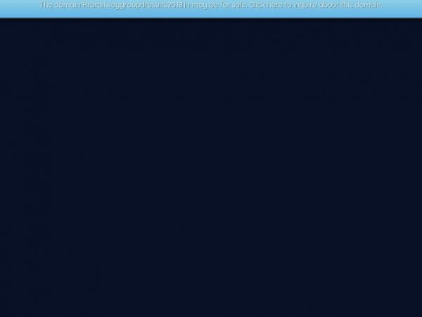 Rrbrailwaygroupdresults2018.in